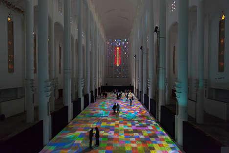 Interactive Carpet Displays
