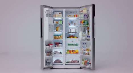 Tweeting Refrigerator Stunts - This LG Fridge Sends Out a Tweet Whenever It is Opened