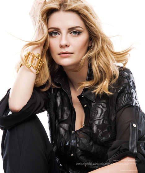 Edgy Ethereal Star Editorials - Benjamin Kanarek Captured Mischa Barton in the City of Lights