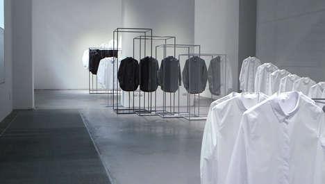 Gradated Fashion Installations