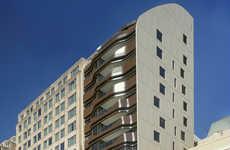 Steel staircase centered apartments : denoldervleugels