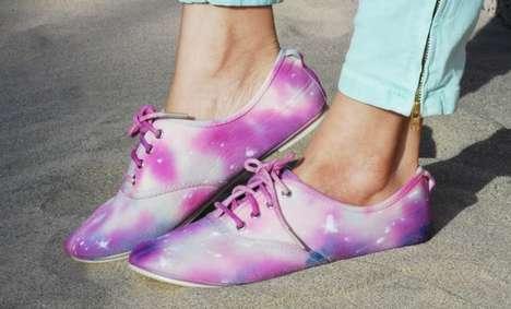DIY Celestial Sneakers