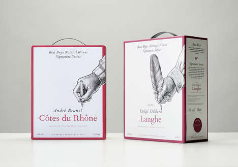 Personalized Winemaker Boxes - The Signature Series Wine Boxes Highlight Independent Winemakers