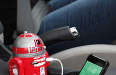 Intergalactic Phone Chargers - This R2 Astro Droids Charger Will Zap Your Phone Back to Life