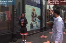 Undercover Rapper Videos - Drake's I Witness News Appearance is Disguised and Hilarious