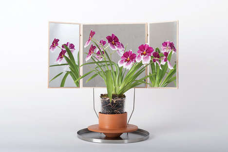Treatment-Specifying Plant Pots