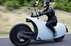 Snail-Shaped Electric Motorbikes - The Johammer Bike Looks Like a Snail But Rides Like a Gazelle