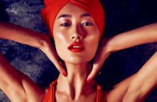 Lustful Tangerine-Toned Editorials