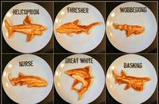 Nautical Predator Pancakes - These Shark Pancakes Make the Deep Sea Predators Delicious