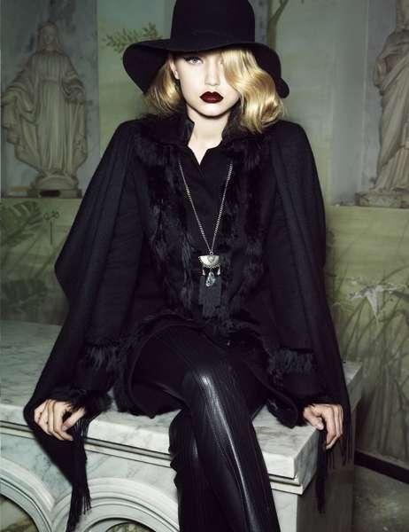Glamorously Gothic Lookbooks