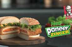 Deep-Fried Cheese Patties - KFC India Released a Deep-Fried Paneer Patty
