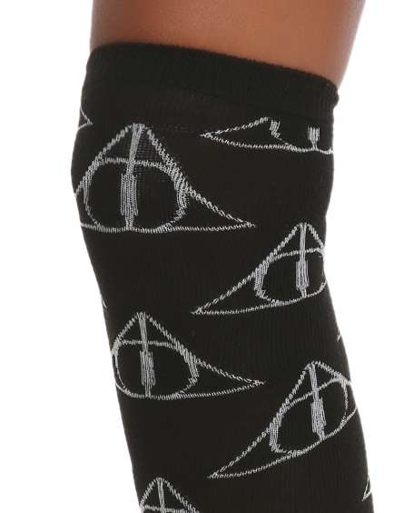 These Harry Potter Socks Have the Deathly Hallows Symbol on Them