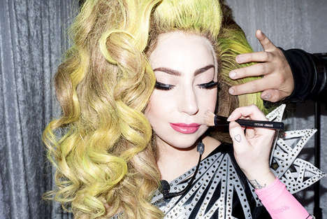Candid Backstage Celebrity Pictures - Terry Richardson Took These Lady Gaga Photos Backstage