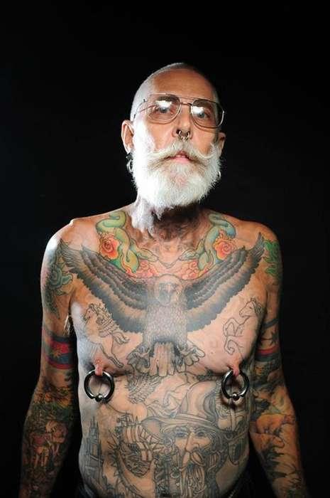 Tattooed Senior Photography