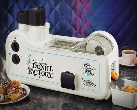 The Mini Donut Factory is a Smart Automatic Contraption