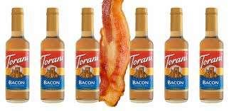 Bizarre Bacon-Flavored Syrups
