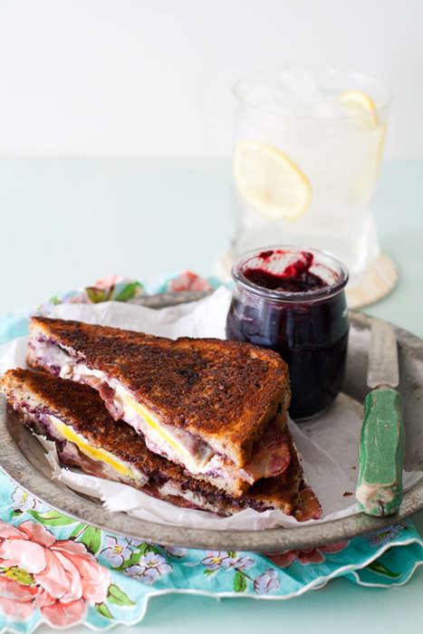 Fruity Bacon Sandwiches