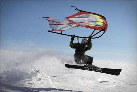 Wind-Powered Wings