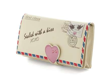 Romantic Mail-Inspired Clutches - A Postcard Wallet is a Cute and Sweet Way to Hold Your Belongings