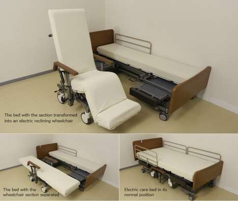 Robotic Wheelchair Beds - This Service Robot Makes Wheelchair-Bound Patients' Lives Easier