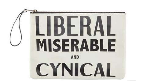 Snarky Slogan Clutches