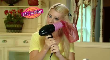 Spiraling Hair-Dryers - The Air Curler Gives You the Style You Want Without the Damage
