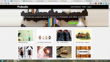 Predicted Product Success Sites - The Website Prefundia Predicts Your Success on Kickstarter