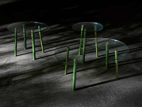 Bamboo Chute Furniture
