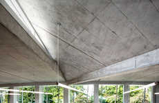 Eco Concrete Structures - This Water Treatment Facility is Functional and Visually Stunning
