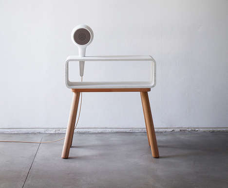 Fashionably Smart Furniture - The Clique Editions Mixes Household Materials with Electronics