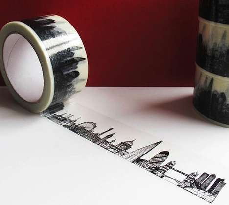The London Skyline Sticky Tape Features the City's Famous Sights