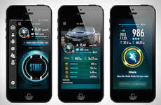 Driver-Analyzing Apps - The Driving Curve App is a Car App That Monitors Your Driving Abilities