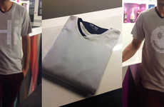 Digital Display T-Shirts - The tshirtOS 2.0 is Washable and Revolutionary