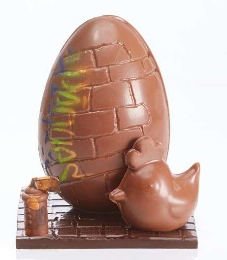 Graffiti-Covered Easter Eggs