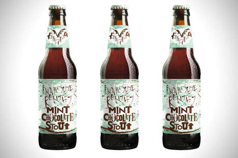 Mint Chocolate Beers - Flying Dog's Limited Edition Brew is a Mint Chocolate Beer