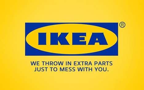 Satirically Honest Brand Slogans