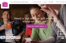 Social Media Gift Cards - 'You Got a Gift' Sends eGift Cards by Email, SMS and Facebook
