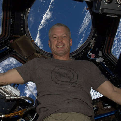 Galactic Astronaut Selfies - NASA Astronaut Steve Swanson Posts the First Instagram Shot from Space