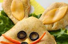 Easter Pizza Pockets - This Cute Easter Recipe Turns Pizza Pockets into a Shapely Treat