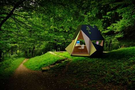 Quirky Modular Wooden Sheds