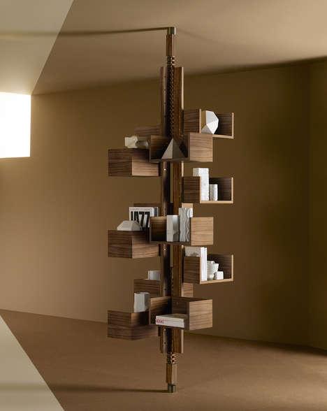 Treetop Book Shelves