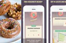 Donut-Locating Apps - Doughbot is a Donut App That Helps You Locate Stores Selling the Treat