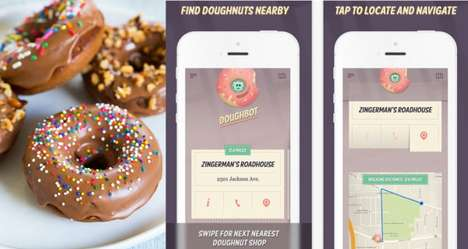 Donut-Locating Apps