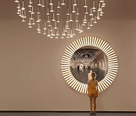 Crystal Ball-Inspired Mirrors