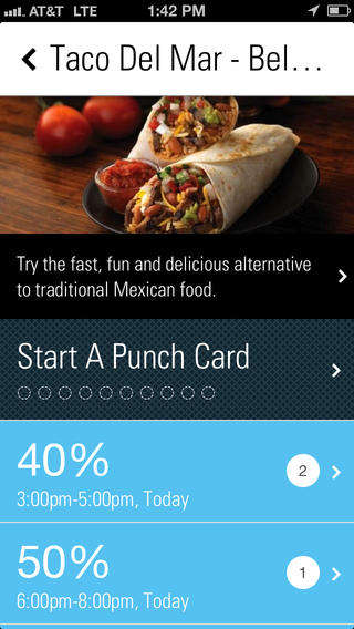 Rewarding Punch Card Apps