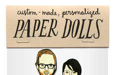 Personalized Paper Dolls - Artist Jordan Grace Owens Turns Your Family into a Paper Doll Set