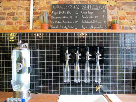 Craft Beer Shops - This Craft Beer Store in London Fosters a Close Relationship with Local Breweries