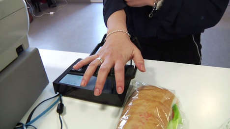 Vein-Scanning Payment Systems - The Quixter Vein Scanner Reads the Unique Patterns on Your Palm