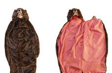 Digestive Grizzly Sleeping Bags - This Bear Sleeping Bag Lets You Sleep Inside a Grizzly
