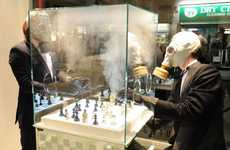Chemical-Emitting Board Games - Purling London's Luxury Chess Set Raises Awareness of Modern Warfare